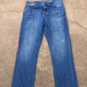 Childrens Place Boys Straight Jeans Size 16 Husky